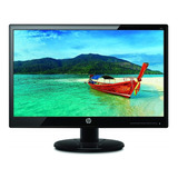 Monitor Hp 19ka Led 18.5  Negro 110v/220v
