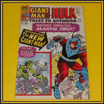 Marvel Comics Tales To Astonish Giant Man Hulk Wasp