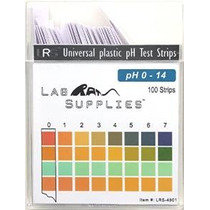 De Plástico Tiras De Prueba De Ph Uso Universal (ph 0-14) 10