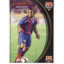 Bimbo Cards Ronaldinho De Assis Club Barcelona