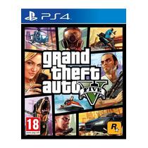Grand Theft Auto V Gta V Ps4 Play Station Videojuego Sellado