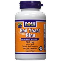 Ahora Orgánica Levadura De Arroz Rojo Extracto De 600 Mg - 1