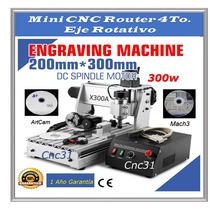 Fresa / Torno Cnc Mini Router Desktop Cnc X401