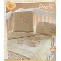 Cobertor Cunero Nubecitas Beige Regina
