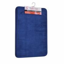 Tapete De Baño Mem/foam Color Azul Mediano Namaro Design