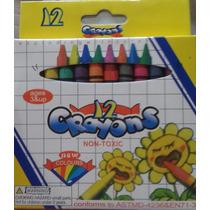 10 Paquetes De Crayolas De 12 Piezas Para Los Libros Fiesta