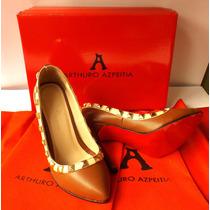 Zapatillas Fina Arthuro-azpeitia Tacon Alto Moda Dama Comodo