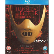 Trilogia The Hannibal Lecter En Blu-ray