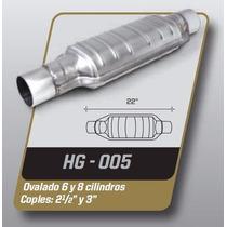 Catalizador Gas Lp Y Gnc Universal Ovalado 8 Y 10 Cil