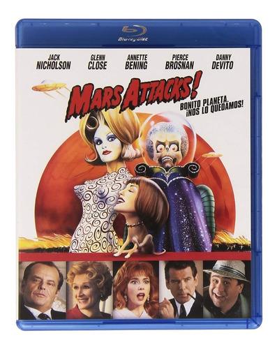 Marcianos Al Ataque (mars Attacks) Blu Ray