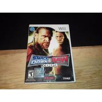 Smackdown Vs Raw 09 Para Nintendo Wii Muy Buen Estado