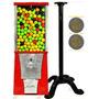 Maquina Chiclera $2 Pesos + Pedestal +chicle Bolita