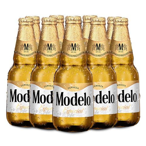 Cerveza Modelo Clara American Pilsner 355 Ml 12 U