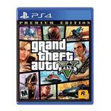Grand Theft Auto V Premium Edition Gta Ps4 Nuevo + Mapa