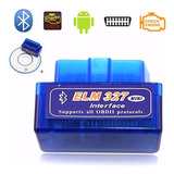 Mini Escaner Automotriz Bluetooth Elm327 Obd2 + Sofware