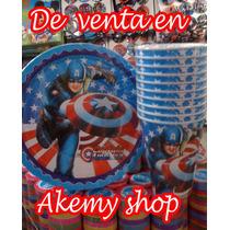 Capitan America Todo Para Tu Fiesta Promoción