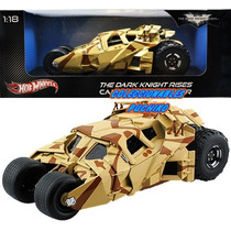 Batman Batmobile Tumbler Camo Hot Wheels 1/18 Batimovil Dark