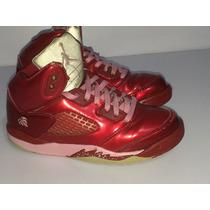Air Jordan Retro 5 Edición San Valentín Del 20 Mex Usados