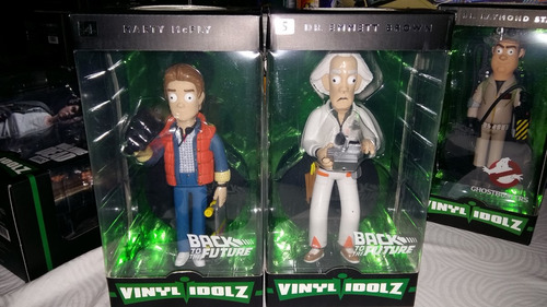 Dley68 Funko Vinyl Idolz Back To The Future Set 964