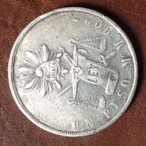 1 Peso Balanza Mo M 1871