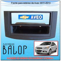 Frente Para Estereo De Un Din En Aveo 2011 - 2013