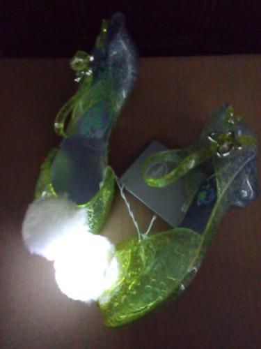 Store Campanita En Para Disney Zapatillas Luz 22 Niña Con Flats tdsQhCr