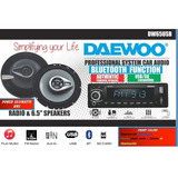 Paquete Autoestereo F Usb Bluetooth  Con Bocinas 6.5 Daewoo