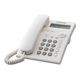 Teléfono Fijo Panasonic Kx-tsc11 Blanco