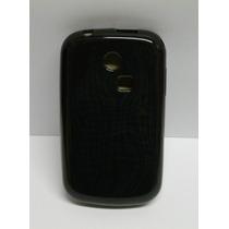 Funda Tpu Negro Samsung Chat 335 / S3350
