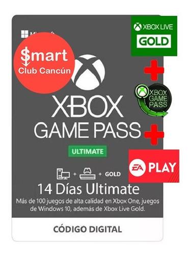 Xbox Game Pass Ultimate (14 Días De Gold Y Game Pass)