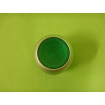 Botón Pulsador Iluminado Color Verde No Sostenido Eaton