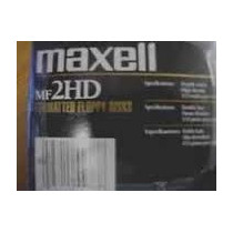 Diskettes Maxell 3.5 Hdf