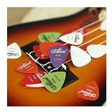 Paquete 20 Puas Plumillas Guitarra Bajo 0.71mm Envio Gratis!