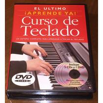 El Último !aprende Ya! Curso De Teclado + Libros Piano + Dvd