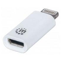 Intracom Adaptador Convertidor Lightning A Micro Usb Apple