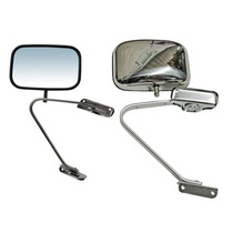 Espejo Ford Pick Up 88-93 S/cont A. Inox Lh=rh