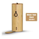 Campana De Viento De Bambú Para Jardín Al Aire Libre