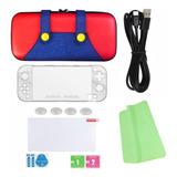 Funda Nintendo Switch Lite Estuche Case Kit Accesorios