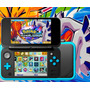 *nintendo New 2ds Xl W Turqueza + 32gb Pokemon Ultra Luna *
