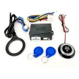 Botón Encendido De Llave Automóvil Arranque Rfid Antirrobo