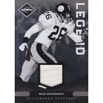 2011 Limited Legend Jersey Rod Woodson Cb Steelers 18/99