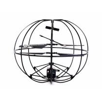 Drone Esfera Ufo Hg86 Gyroscopio Luz Led