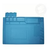 Tapete Silicon Antiestatico Resistente Al Calor 30cm X 45cm