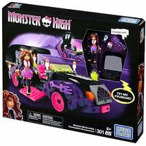 Set Monster High Mega Bloks Autocinema Clawdeen Wolf Epicus