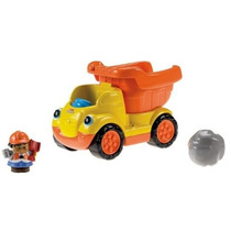 Juguete Volqueta Fisher-price Amarillo