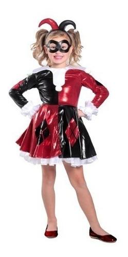 Disfraz Harley Quinn Mujer Y Niña Escuadrón Suicida Barato ...