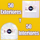 50 Fundas Interiores Y 50 Fundas Exteriores Para Disco De 12