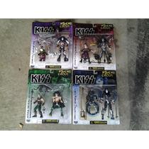 Kiss Set Psycho Circus 4 Figuras Nuevo Coleccion Ozzy,maiden