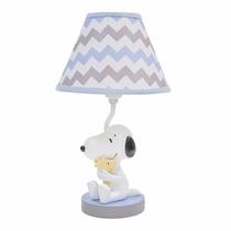 Lambs & Ivy My Little Snoopy Lámpara Con Sombra Y Bombilla