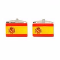 Mancuernillas Gemelos España Madre Patria Bandera Mundial